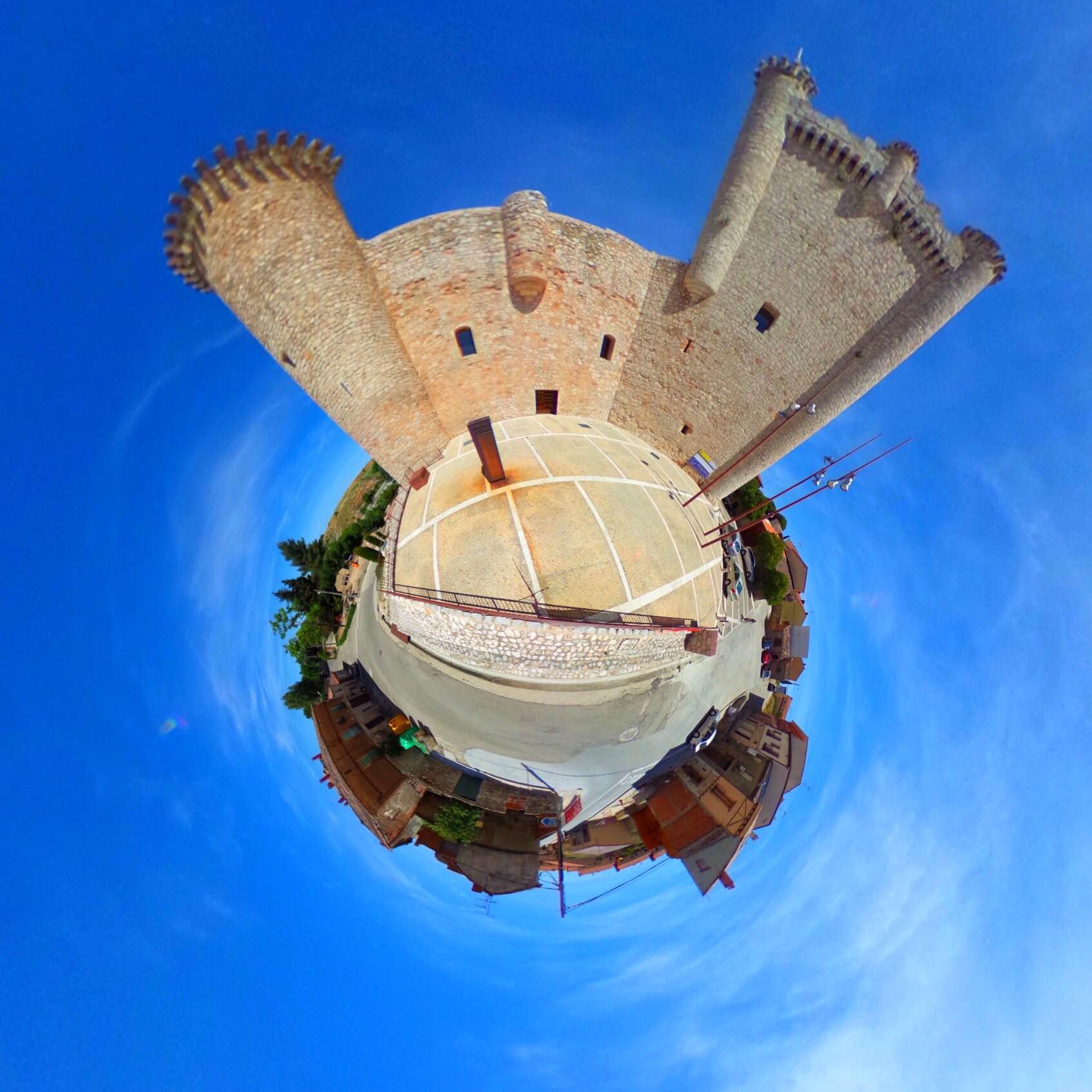 Little Planet hecho con la cámara Ricoh Theta S