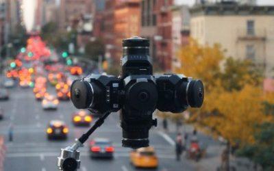 Las monturas 360Helios para realizar Video 360 con las cámaras BlackMagic ya disponibles
